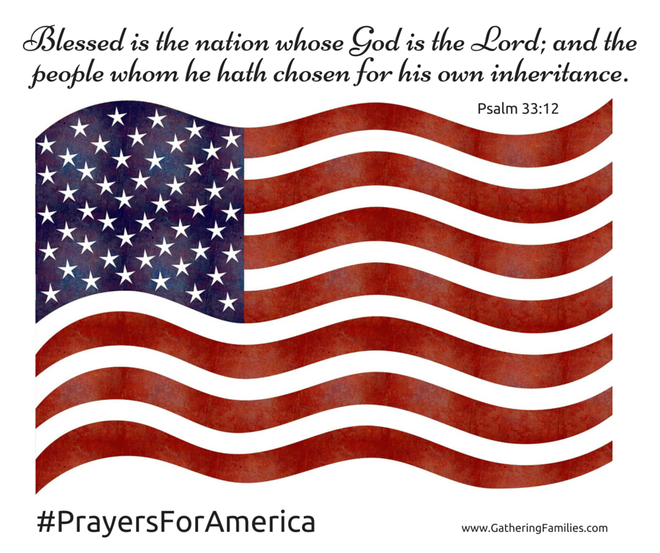 Blessed is the nation whose God is the Lord; and the   people whom he hath chosen for his own in (1)
