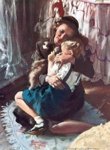 Illustration by Harry Anderson 1906-1996